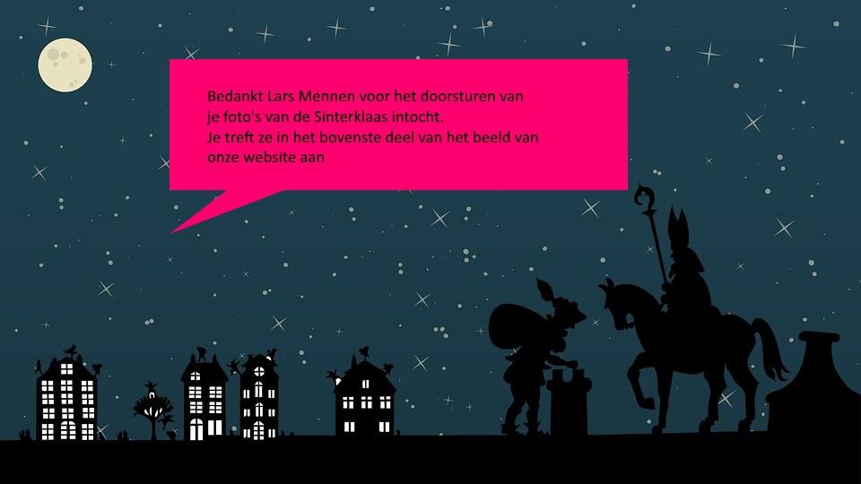 Hulp gevraagd: foto's van de intocht van Sinterklaas