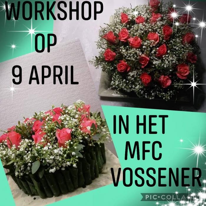 Workshop bloemschikken 09-04-2019