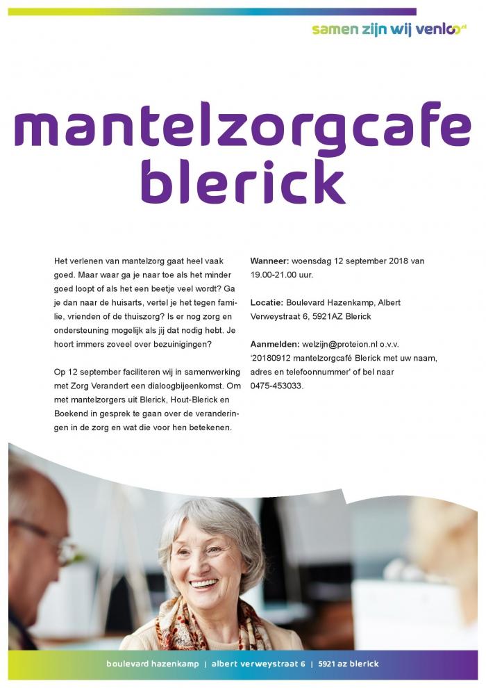 Mantelzorgcafé Blerick