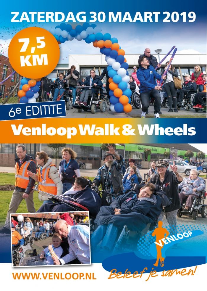 Venloop Walk & Wheels 30 maart 2019